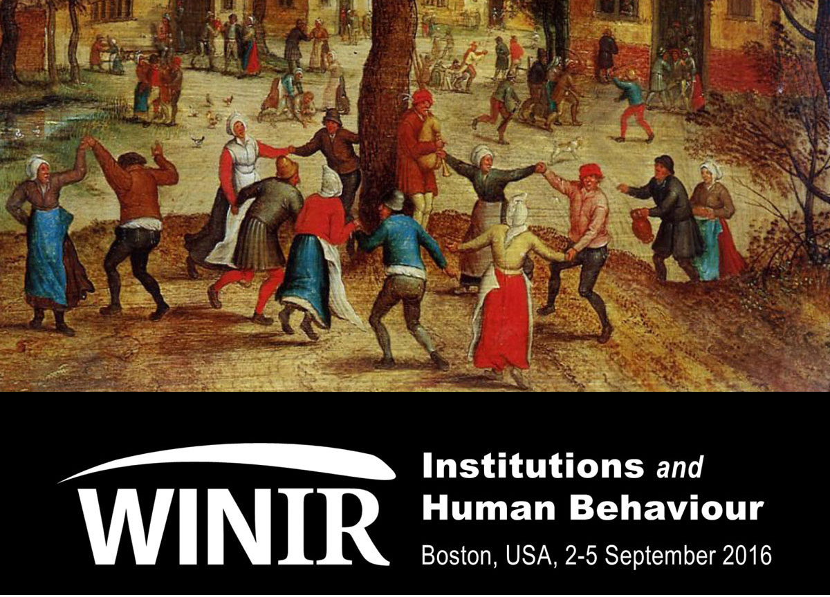 """""""Third WINIR Conference – Institutions and Human Behaviour"""""""